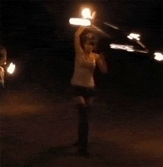 { fire dancer }