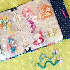 Embroidery Thread Storage