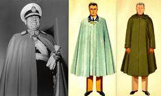 Argentine Army 1947 pattern general officers' dress uniform cloak (as worn by president Juan Perón)