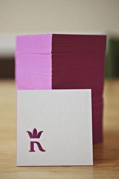 Kip Beelman's Business Card w_Edge Painted Stack