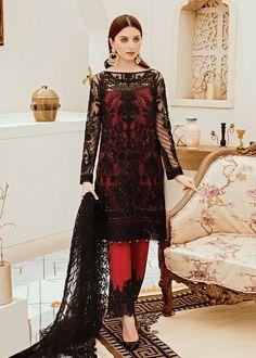 Pakistani Salwar Kameez Riona By Afrozeh Black Ruby 05 Source by meem_fashions dress pakistani Net Dresses Pakistani, Pakistani Salwar Kameez, Pakistani Bridal Wear, Pakistani Suits, Indian Dresses, Punjabi Suits, Black Pakistani Dress, Patiala Dress, Pakistani Clothing