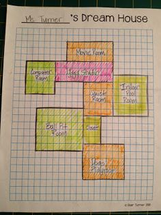 All Things Upper Elementary: Dream House: An Additive Area Project (3rd Grade Common Core)