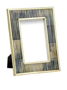 "Mela Artisans Inlaid Bone Zambia Photo Frame, 4"" x 6"", http://www.myhabit.com/redirect/ref=qd_sw_dp_pi_li?url=http%3A%2F%2Fwww.myhabit.com%2Fdp%2FB00G0K5YUA"