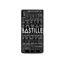 Bastille Lyric Pompeii Sony Experia Z1 Z2 Z3 Case