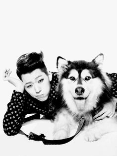 Zico n husky .. i won't ask for anything more