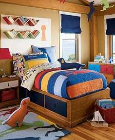 Kid decor on pinterest boy rooms lego table and kids rooms for Dog themed bedroom ideas
