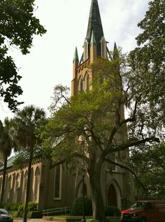 Savannah, GA. This one is for Nana and her love for old churches... especially ones in Savannah!