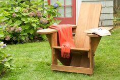 Learn how to build a classic Westport chair--the forerunner of the Adirondack chair--using stock cedar and our step-by-step instructions. | Photo: Kolin Smith | thisoldhouse.com