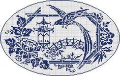 Doily 09 - Oriental garden