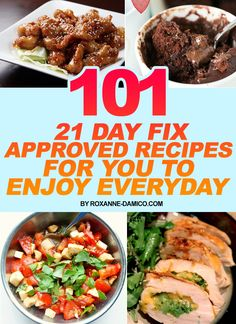 21 Day Fix Approved Recipes For You To Enjoy Everyday