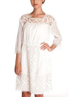 Masscob Barbaria White Lace Dress