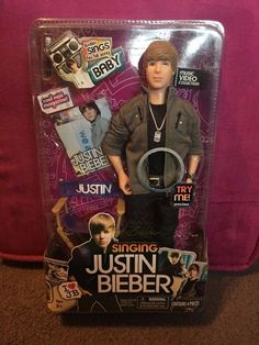 "Justin Bieber ""Baby"" Singing Doll"