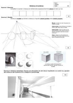 Ombre et lumière - Collège François Pompon