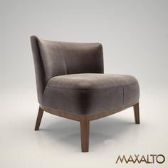 Maxalto Febo armchair lowback