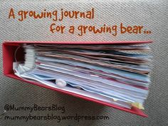 A growing journal for a growing bear...
