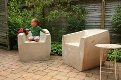 Zachary A. Design | Outdoor Furniture Designs - Furniture - The Van Dyke Chair
