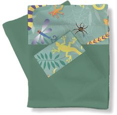 Little Lizards Twin Sheets/Pillowcase Set RM04-LL by Room Magic