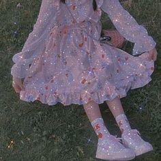 Classy Aesthetic, Aesthetic Girl, Aesthetic Clothes, Fairytale Dress, Fairy Dress, Kawaii Dress, Kawaii Clothes, Mode Kawaii, Blue Aesthetic Pastel