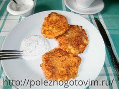 Вкусные морковные оладьи с сыром Морковные оладьи - это вкусный и полезный завтрак. Они имеют приятный нежный и немного острый  вкус благодаря сыру. Это отличное блюдо из полезной моркови.