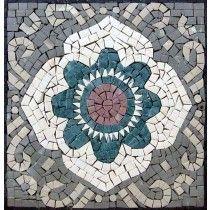 Accent Marble Mosaic Art Tile Wall Or Floor Insert Marble Mosaic, Stone Mosaic, Mosaic Wall, Mosaic Designs, Mosaic Patterns, Pattern Art, Natural Stone Backsplash, Mosaic Art Projects, Mosaic Portrait