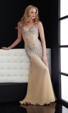 Jasz Backless Prom Dress 4614