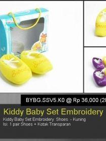 Kiddy baby Set Emboidery Shoes BYBG.SSV5.K0