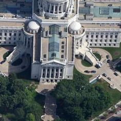 George B. Post, Wisconsin State Capitol, Madison, WI, United States - street view