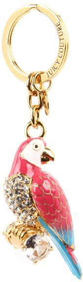 Amazon.com: Juicy Couture Parrot Key Chain,Gold,One Size: Shoes