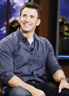Chris Evans. That SMILE!!!:)