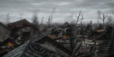 Znalezione obrazy dla zapytania ruined fantasy village