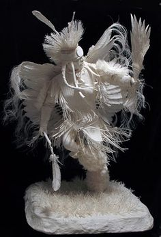 """*Paper Sculpture - """"Native American"""" by Allen and Patty Eckman"""