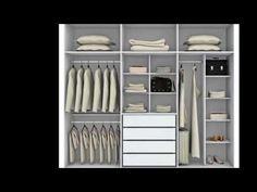 100 IDEAS CLOSETS(Guarda ropas) MODERNOS, PEQUEÑOS Y ECONOMICOS - YouTube
