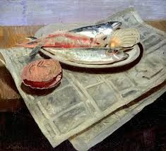 the inner life of objects ask me a question favorites contact: cricketapollo [at] gmail [dot] com Winifred Nicholson, William Nicholson, Painting Still Life, Still Life Art, Realistic Paintings, Fish Paintings, Food Painting, Sculpture, Art Techniques