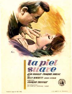 """La piel suave (1964) """"La peau douce"""" de François Truffaut - tt0058458"""