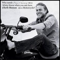 WOW!!!!  Charlie Hunnam- the fact that he's introverted makes me love him more..