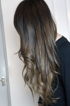 Hair colour, thinking of going back natural / natural with ombré, which I THINK is this colour... But I haven't seen my natural colour in 15years!!!! (That's over half of my life ha)