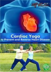 Yoga for Cardiac Rehab DVD with Modified Postures was released in 2007 in NTSC format and has a running time of 39 minutes. The author is Paula Pullen who is a Yoga instructor. Cardiac Yoga is actually derived from Hatha Yoga. Some of the benefits include getting rid of unwanted medications by balance between body and mind, mild breathing exercises, meditation etc.