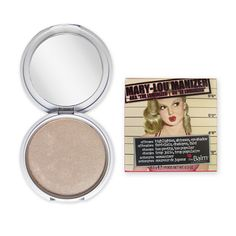 Best all-around highlighter recommended by I Covet Thee blogger - Meet Mary-Lou Manizer, a seemingly innocent honey hued luminiser that catches everybody's eye. This highlighter, shadow and shimmer diffuses light so your skin looks softer and younger while...