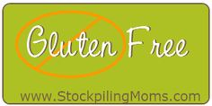 Gluten Free Shopping List - Newly diagnosed gluten free?  What to buy at the store.
