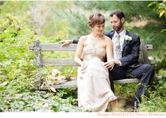 Massachusetts Wedding with an Outdoor Garden Ceremony