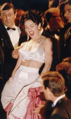 Pin for Later: 53 Cannes Film Festival Photos That Will Take You Way, Way Back  In 1991, Madonna stepped on the scene to promote docu-film In Bed With Madonna (known as Madonna: Truth or Dare in the US).