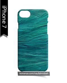 Feather Turquoise iPhone 7 Case Cover Wrap Around