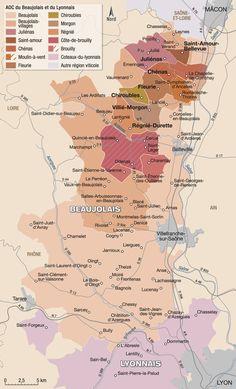 Beaujolais et lyonnais