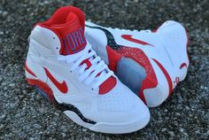 Nike Air Force 180 Mid White/Red