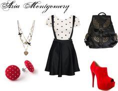 """Aria Montgomery"" by rebecca-fitzpatrick on Polyvore"