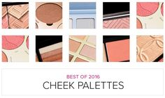 Top 10 of 2016: Best Cheek Palettes