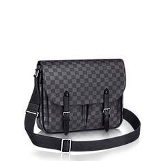 Bolsas Masculinas Messenger em Couro & Canvas - Louis Vuitton®
