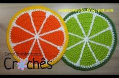 Workout That Replaces High-Intensity Cardio - Colorful Crochet Crochet Fruit, Crochet Food, Crochet Kitchen, Love Crochet, Crochet Placemats, Crochet Potholders, Crochet Doilies, Crochet Flowers, Crochet Designs