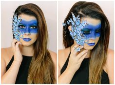 Sunkissed and Made Up Butterfly Halloween Costume, Diy Halloween Costumes, Halloween Makeup, Costume Ideas, Halloween Inspo, Halloween Looks, Halloween 2016, Diy Makeup, Makeup Art