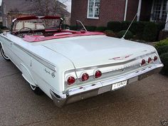 1962 Chevrolet Impala SS Convertible - Original 85,243 miles - All numbers mathing Six Cylinder Powerglide |